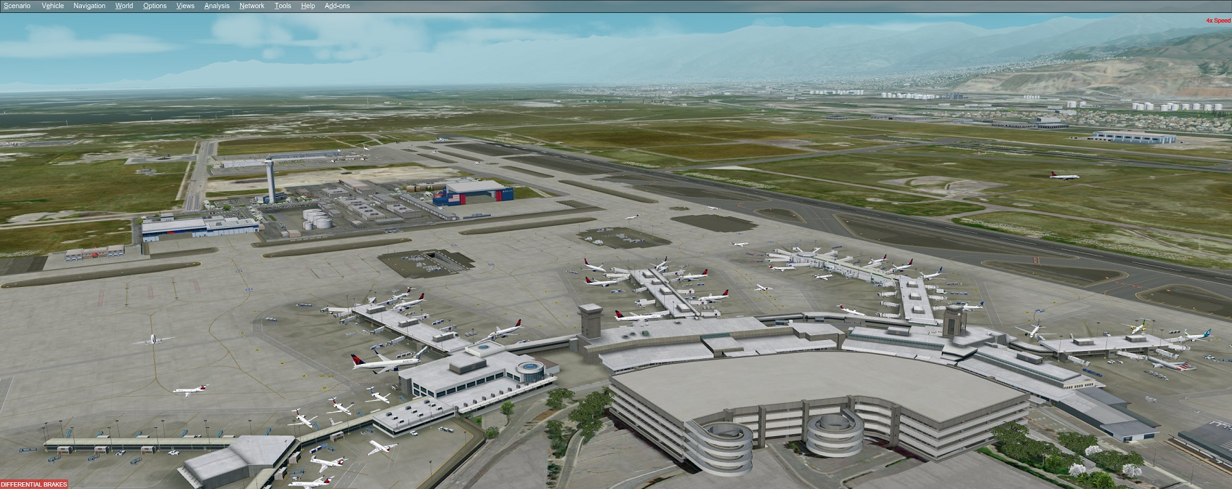 PacSim – KSLC Salt Lake City International Airport | JCAI