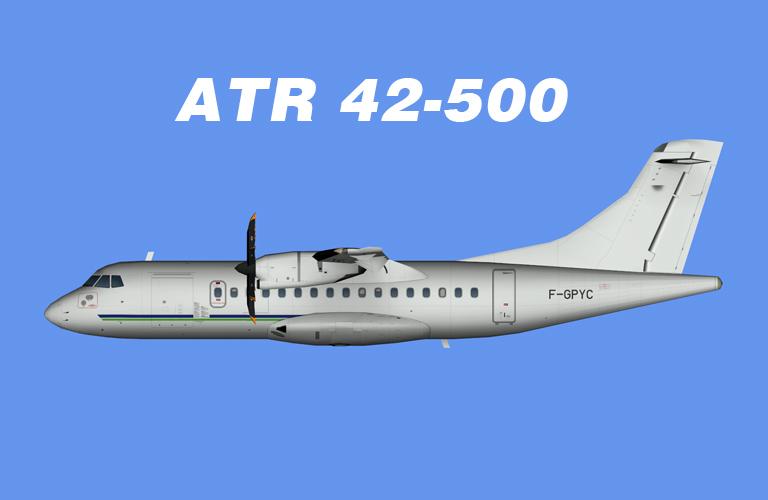 Airlinair ATR 42-500 Opf HOP FSX