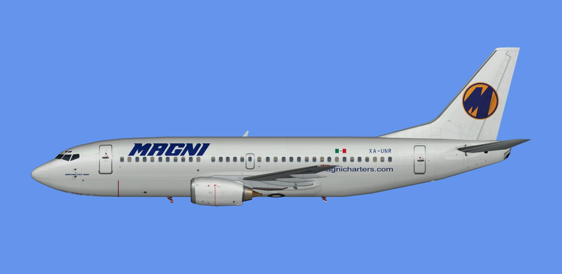 Magnicharters Boeing 737-300 Fleet FSX | JCAI