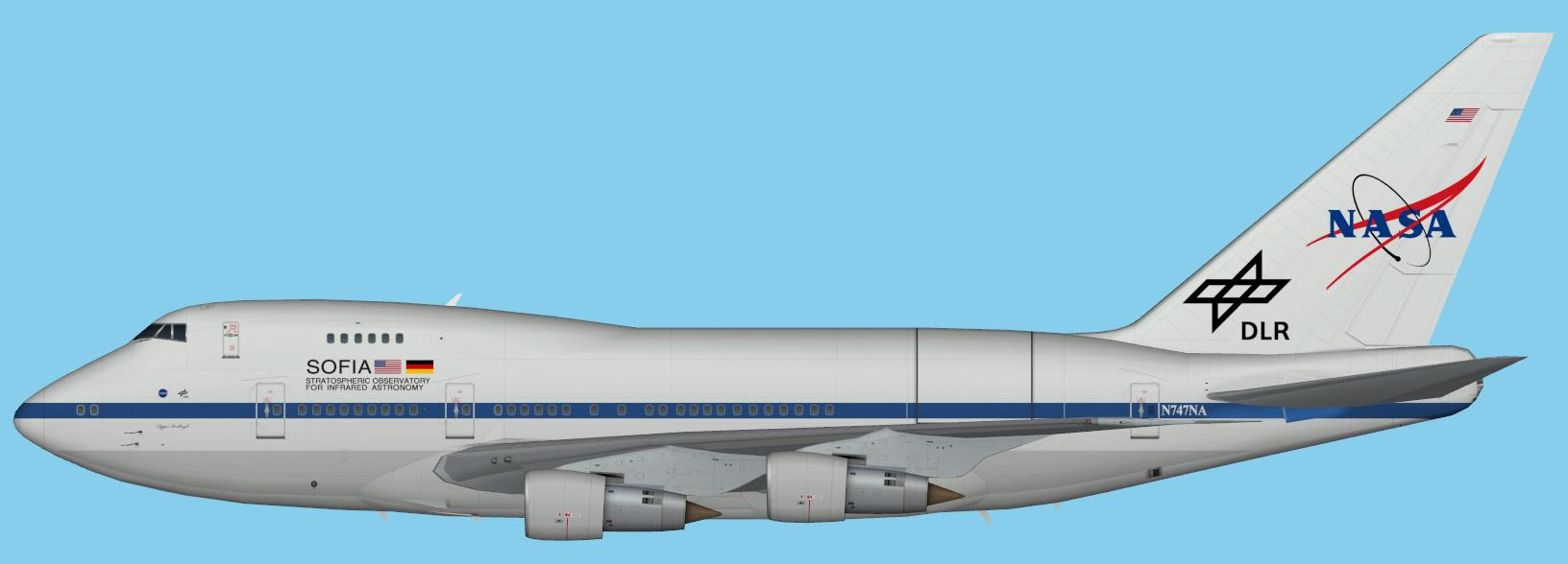 NASA Boeing 747SP SOFIA Open Door in Flight - YouTube
