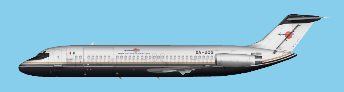 Aeronaves TSM DC-9-30 Fleet | JCAI
