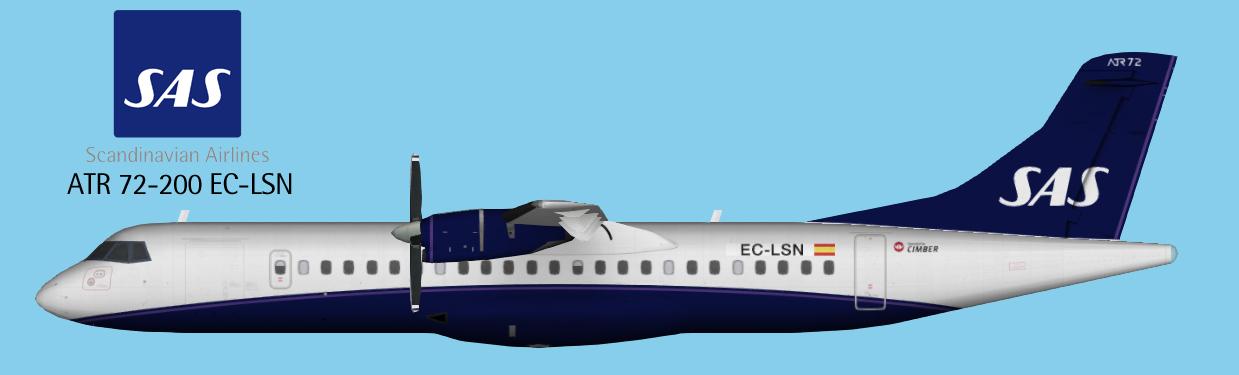 HD Scandinavian Airlines - SAS A340-313 OY-KBC Landing at San ...